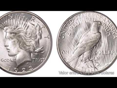 Top7: Los PEACE DOLLARS Mas VALIOSOS De USA