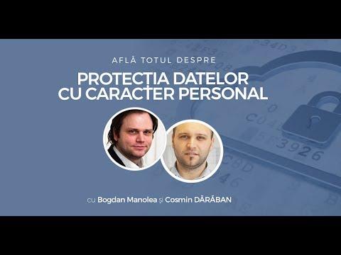 (GDPR) Afla totul despre protectia datelor cu caracter personal cu Bogdan Manolea