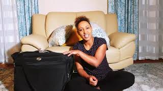 How to pack your wedding dress when traveling:- ለጉዞ የሚመች ቀላል  የሙሽራ ቀሚስ አያያዝ