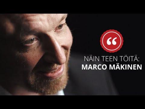 925 Näin teen töitä: Marco Mäkinen, TBWA/Helsinki