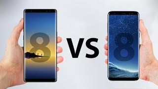 Samsung Galaxy Note 8 VS S8 Plus - ULTIMATE In-Depth Comparison!