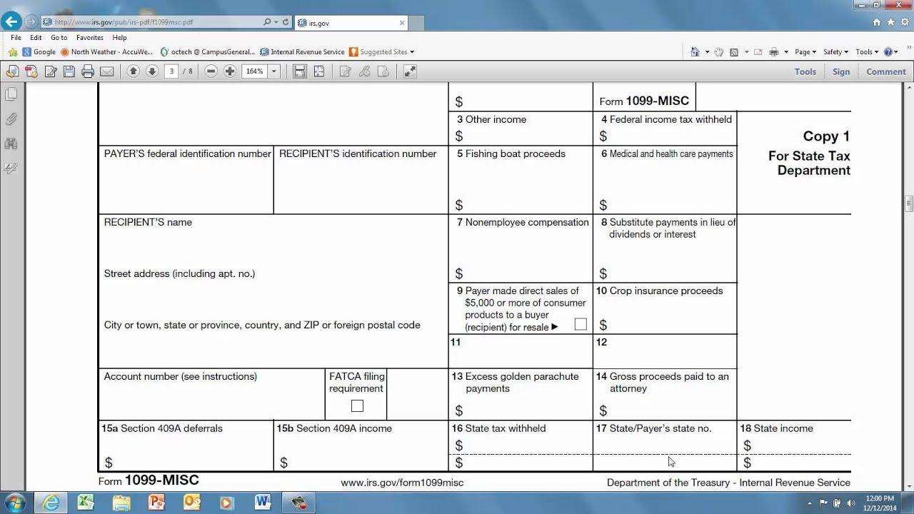 Form 1099 misc youtube form 1099 misc falaconquin