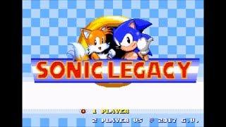 Sonic Legacy [Sonic Hacking Contest 2017 Version] (Genesis) - Longplay