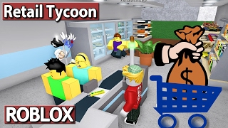 I as a KASSIERER - Retail Tycoon | ROBLOX