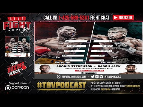 🔴Adonis Stevenson Vs Badou Jack FULL LIVE FIGHT CHAT & IMMEDIATE REACTION🔊