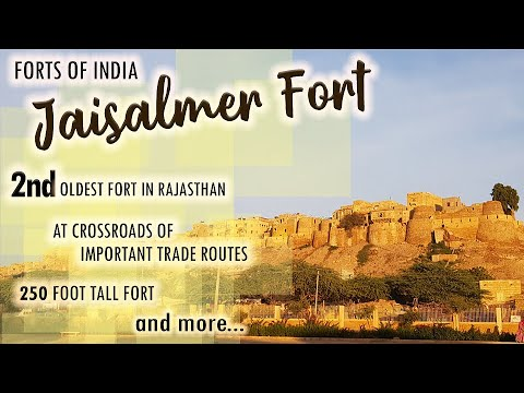 Forts Of India - Jaislmer Fort - Ep # 14