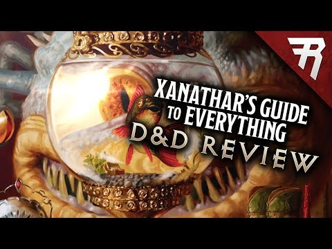 Xanathar's Guide to Everything: Dungeons & Dragons Review (& Fantasy Grounds)