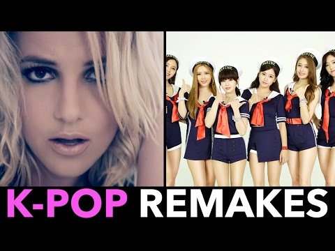 K-POP REMAKES OF ENGLISH POP SONGS!