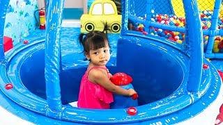 Nora Playing at Kids Park Indoor Playground