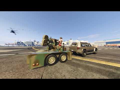GTA online : gun running Jobs edit video