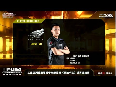 SUPERNAYR MENGGILA CLUTCH SAMPE CHICKEN!!EMF Hongkong PUBG World Invitational Round 6FPP Erangel