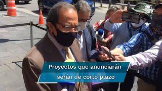 El próximo lunes, el presidente López Obrador, en conjunto con el sector empresarial, dará a conocer el plan de infraestructura para reactivar la economía del país, tras el impacto por la pandemia