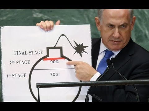 Image result for Netanyahu bomb pic