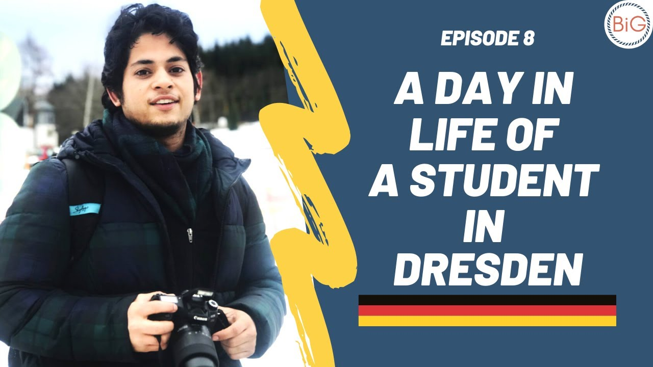 A Day in Life of A Student in Dresden: M.Eng. in Environmental Engineering in Germany | Episode 8 🇩🇪