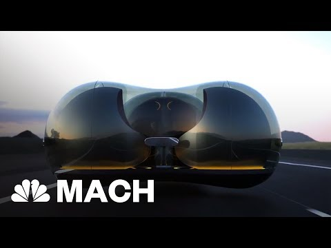 This Bubble-Shaped Pod Could Be The Car Of The Future | Mach | NBC News