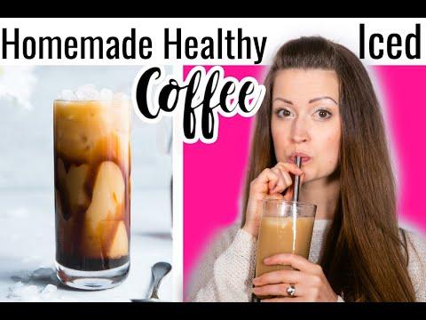 Homemade Caramel Iced Coffee | Healthy, Paleo & Gluten Free
