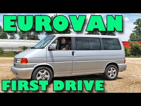First drive: My 2001 VW EuroVan (finally) hits the open road