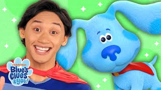 Super Josh and Blue Save the Day! | The Thinking Squad | Blue's Clues & You!