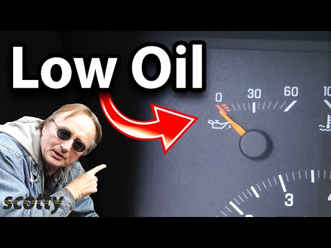 How to Replace an oil pressure sending unit to fix a low engine oil