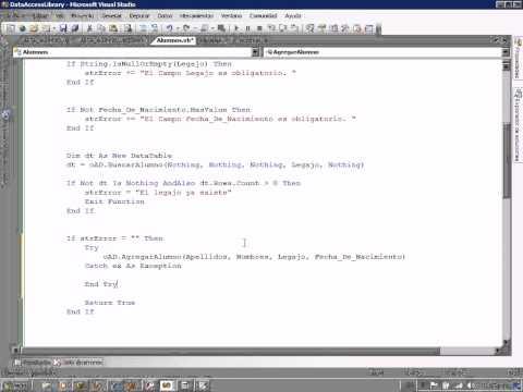 Arquitectura de software programaci n en 3 capas parte 9 for Arquitectura de capas software