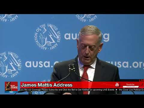 FULL SPEECH James Mad Dog Mattis Army speech on 'READINESS'
