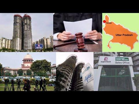 SC orders demolition of Supertech's twin 40-floor towers in Noida