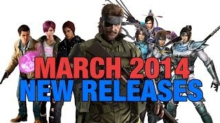 (PS4) MARCH 2014 NEW GAMES RELEASES