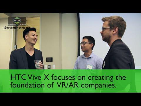 AR/VR MunchnLearn Meetup: HTC Vive X Jeff Lin