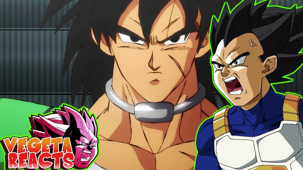 Vegeta Reacts To Dragon Ball Super Broly Movie Trailer English Dub Reveal