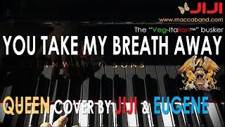 Queen - You Take My Breath Away | Vocals and piano cover by Jiji & Eugene in Salzburg, May 8, 2004