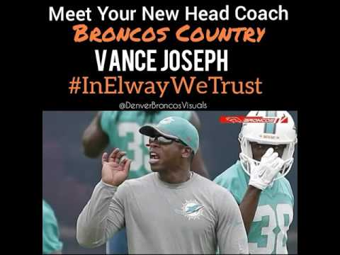 Hiring Vance Joseph, a black coach, to lead Broncos big step forward for NFL, Colorado