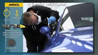 Systém pro leštění skel automobilů