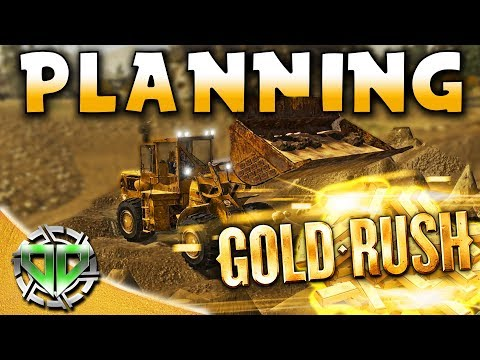 Gold Rush the Game : Planning & Getting Gold from the Big Machine! (PC Lets Play)