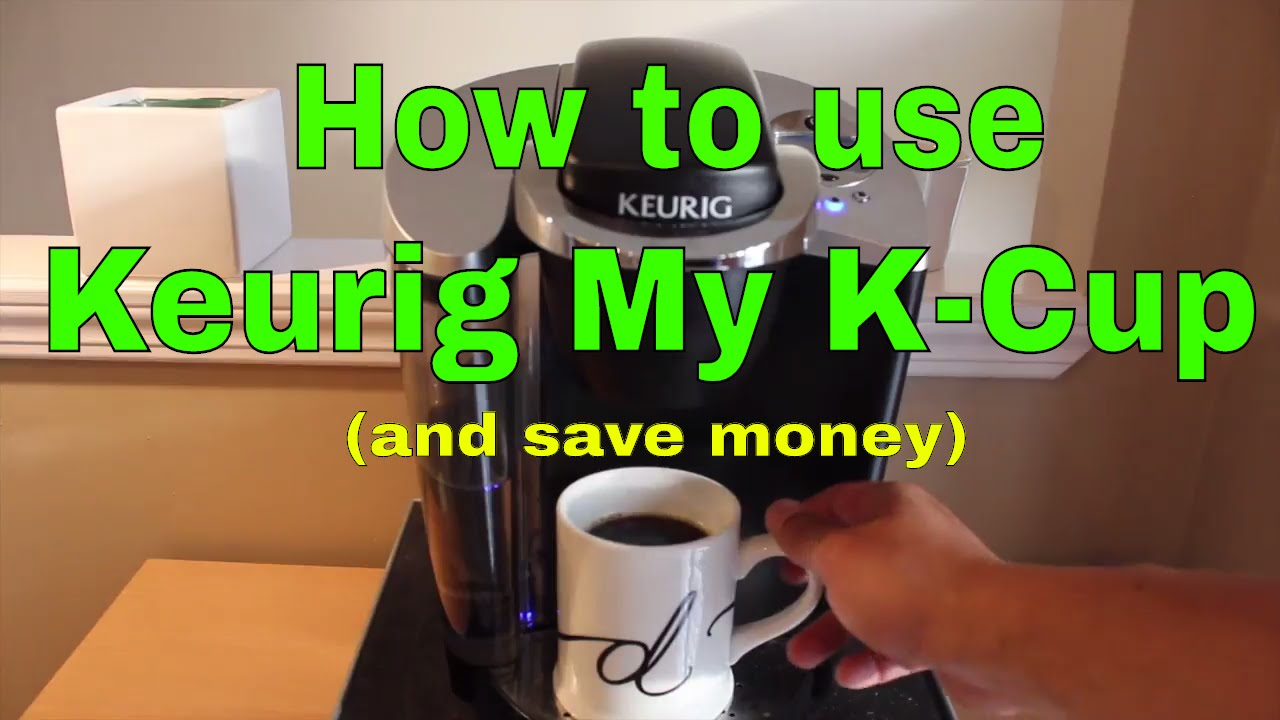 How to use the Keurig My KCup reusable coffee filter and save money