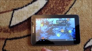 видео Обзор планшета Lenovo IdeaTab A2107