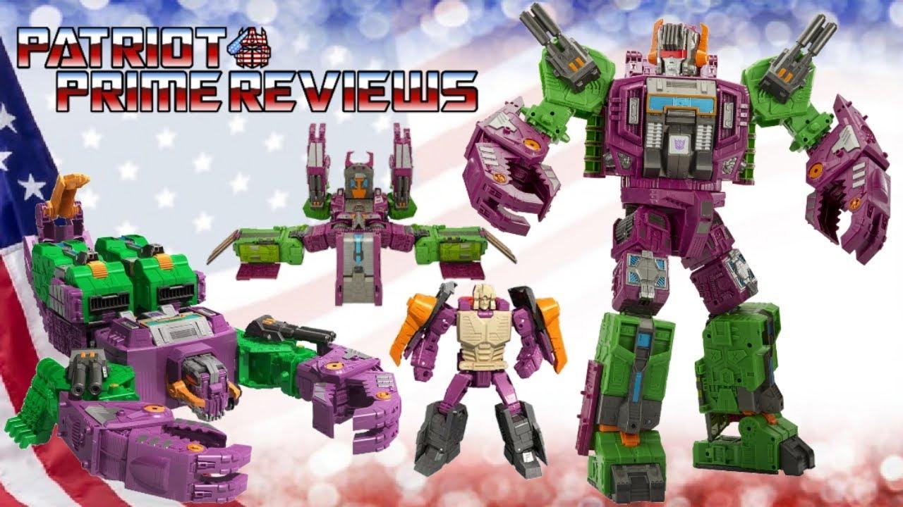 Patriot Prime Reviews Earthrise Scorponok