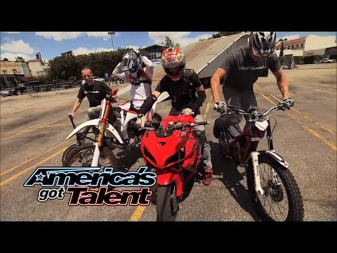 Real Encounter: Action Sports Team Pulls off Insane Stunts - America's Got Talent 2014
