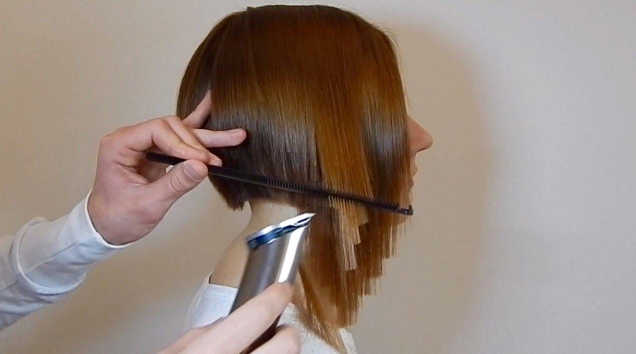 Как подравнять волосы машинкой для стрижки