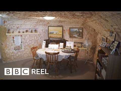 Life Against The Odds In Australia's Underground Town - BBC REEL