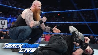 Roman Reigns and Daniel Bryan are blindsided by Erick Rowan: SmackDown LIVE, Sept. 3, 2019