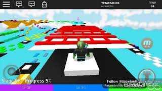 Jump and run in roblox?