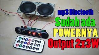 Download Modul Mp3 Bluetooth, usb, micro SD, radio plus Amplifier 2x3watt