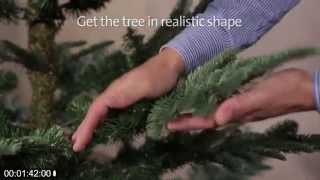 How To Assemble Your Nobilis Fir Christmas Tree