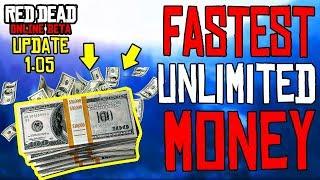 *NEW* BEST WAY TO MAKE MONEY in RED DEAD ONLINE After UPDATE 1.05 | RDR2 Online Money Glitch