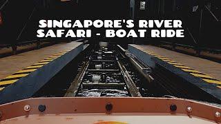 Singapore's River Safari - Boat ride