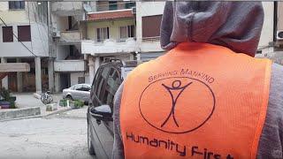 MTA JOURNAL: 09.12.2019 - Humanity First hilft nach Erdbeben in Albanien.