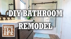 DIY Bathroom Remodel for my Mother In Law | Home DIY