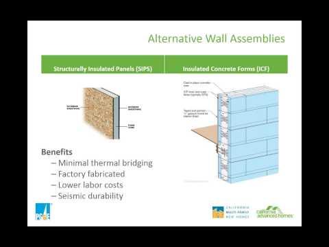 Next Generation Construction Techniques High R value Walls