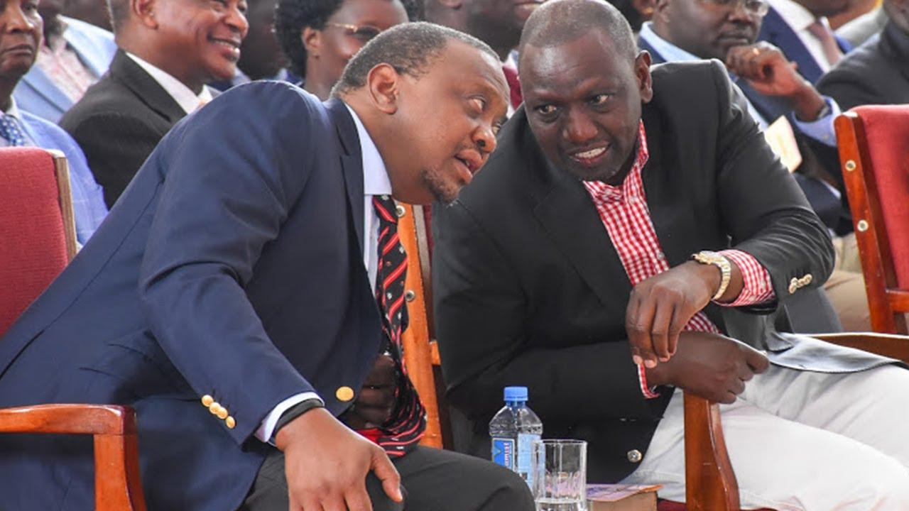 Download Rais Kenyatta amuwashia moto Ruto, amtaka ajiuzulu pamoja na washirika wake.