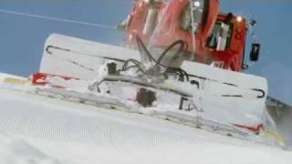 Kässbohrer PistenBully 4,5 Tonnen Winde   -   Video ...............Oeni